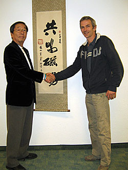 Chris Nederhorst and Dr. Emoto